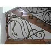 Кованые перила для лестниц фото фото
