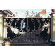 Изготавление и установка кованных ворот, калиток, ограждений фото