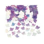 Конфетти Голуби перламутр розовые 14гр А фото