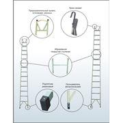 Лестницы изолирующие стеклопластиковые ЛСПО фото