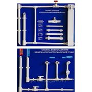 Металлополипропиленновые трубы МПТ РР-R/AL/ PP-R 20 х2 Т +110 С фото