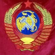 Вышивка флагов, знамён фото