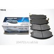 Колодка дискового тормоза передняя Yes-Q Ceremic, кросс_номер 581012AA26 фото