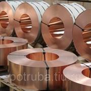 Лента медно-никелевая 0,6 мм МНМц 40-1,5 константан фото