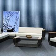 Мебель для сада из ротанга и алюминия.Артикул 1101 GRUISE. фото