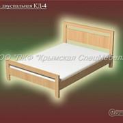Кровать двуспальная КД-4 фото