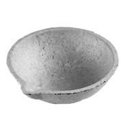 Тигель шамотный тонкостенный №8 d=80 мм, h=32 мм фото