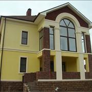 Отделка фасадов домов фото