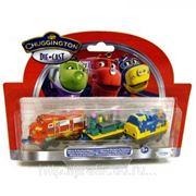 Паровозик Уилсон и 2 вагончика с краской Die-Cast фото