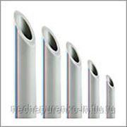 Труба полипропиленовая PN 20 Ф20мм цвет белый. фото