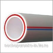 Труба полипропиленовая PN 25 (армированная) Ф90мм цвет серый. фото