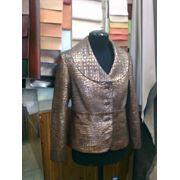 Пошив красивых кожаных пиджаков для мужчин и кожаных жакетов для женщин в СПб фото