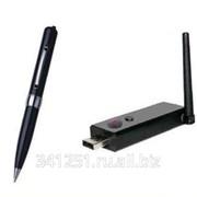 Беспроводная шпионская камера ручка 2.4 Ггц + USB приемник фото