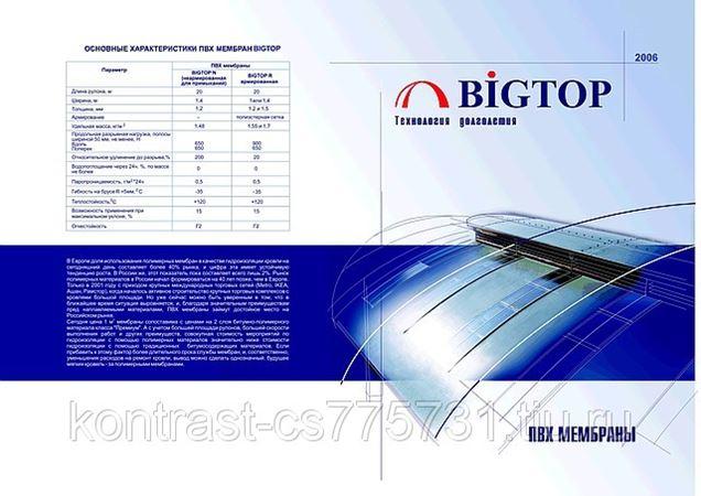 Мембрана Bigtop - Вира