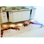 3D наливные декоративные полы фото
