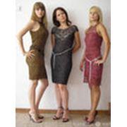 Вязание трикотажной одежды. фото