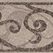 Бордюр Grasaro Quartzite Grigio (светло-серый) GT-171/f01 бордюр 7x40 глазурованный фото