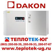 Электрические котлы Dakon/ электрокотлы Дакон (Чехия) фото