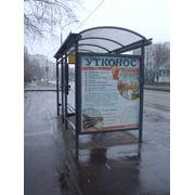 Реклама на остановках фото
