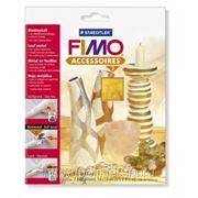 FIMO Металлическая фольга золото, 7 листов в упаковке, 14х14 см. арт.8780-11