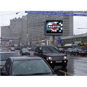Реклама на экранах фото