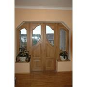 Входные и межкомнатные двери из натурального дерева фото