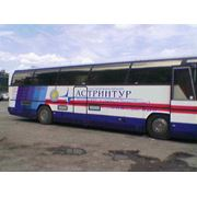 Реклама на бортах автобусов фото