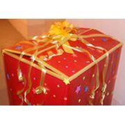 Поздравление-сюрприз из коробки фото