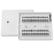 Коробка распределительная телефонная КРТП-15 плоская фото