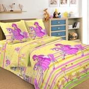 Комплект постельного белья 1,5 СПАЛЬНЫЙ ПЕРКАЛЬ 50 Х 70 Принцесса фото