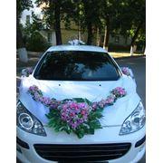 Украшений для свадебных автомобилей фото
