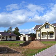Строительство деревянных домов и бань фото