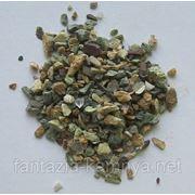 Крошка сборная из различных пород камней (кварц, яшма, змеевик, кремний и т.п)