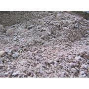 Мраморная крошка красная (песок) фото