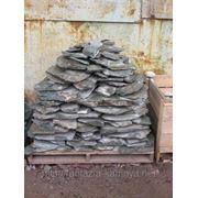 Камень - сланец кварцованный 150-200 кг (зеленый) фото