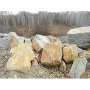 Глыба (800-1000 кг) доломит (разноцветный). фото