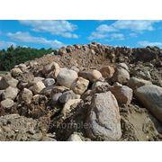 Камень природный фр. 450-650 с доставкой от 14м3 фото