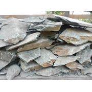 Камень - сланец кварцованный 100-120 кг (зеленый) фото