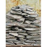 Камень - сланец кварцованный 60-80 кг (зеленый) фото