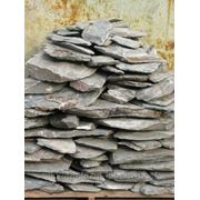 Камень - сланец кварцованный 30-60 кг (зеленый) фото