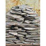 Камень - сланец кварцованный 80-100 кг (зеленый) фото