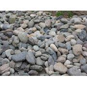 Камень для ландшафта. Галька 40-150 мм. МКР фото