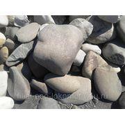 Бутовый камень(круглый крупный) фото