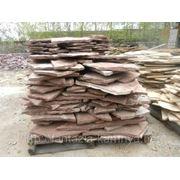 Камень Песчаник бардовый 7-8 см. фото