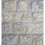 Известняк желто-бежевый, плитка 5-сторонней обработки «Скала» фото