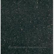Гранит Блэк Гэлакси, индийское месторождение,черный с лепестками фото