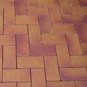 Брусчатка тротуарная клинкерная Areno Ferrum фото