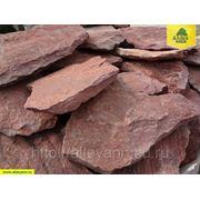 Плитняк СОЧИ из песчаника красный (Фракция 20-30мм) фото