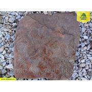 Плитняк ДРАКОН красный из песчаника голтованный (фракция 20-30 мм) фото