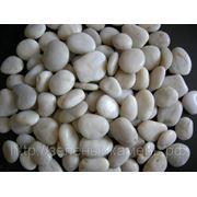 Белая полированная галька 3-6мм,6-10мм,10-20мм,20-40мм,40-60мм. фото
